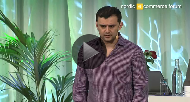 Länk till video med Gary Vaynerchuk - Nordic eCommerce Summit 2011